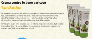 Varikostan – commenti – ingredienti – erboristeria – come si usa – composizione